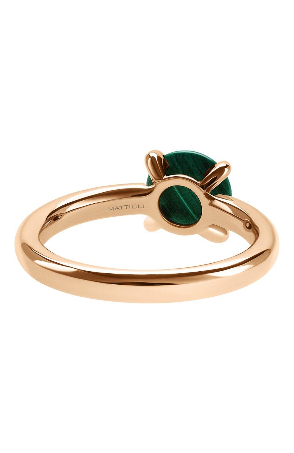 Женские кольцо MATTIOLI бесцветного цвета, арт. MAN137R006M   Фото 3