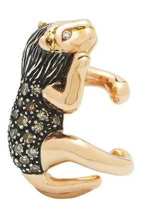 Женские серьга BIBI VAN DER VELDEN бесцветного цвета, арт. E3008 | Фото 1