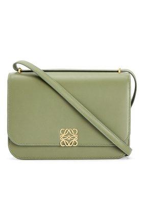 Женская сумка goya LOEWE зеленого цвета, арт. A896N01X03/ | Фото 1