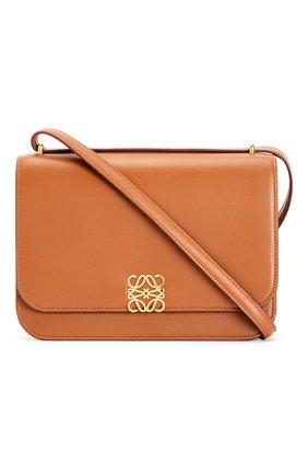 Женская сумка goya LOEWE светло-коричневого цвета, арт. A896N01X03/ | Фото 1