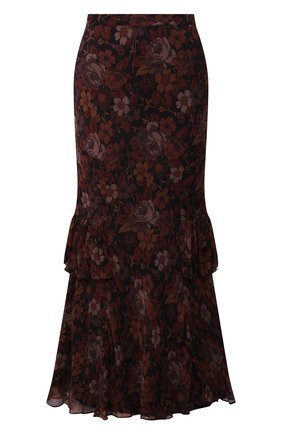 Женская юбка из вискозы POLO RALPH LAUREN разноцветного цвета, арт. 211843124 | Фото 1 (Материал подклада: Синтетический материал; Длина Ж (юбки, платья, шорты): Макси; Материал внешний: Вискоза; Женское Кросс-КТ: Юбка-одежда; Стили: Романтичный)