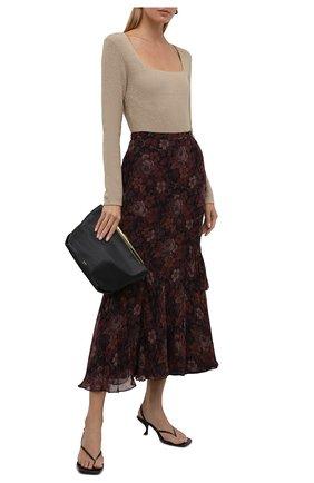 Женская юбка из вискозы POLO RALPH LAUREN разноцветного цвета, арт. 211843124 | Фото 2 (Материал подклада: Синтетический материал; Длина Ж (юбки, платья, шорты): Макси; Материал внешний: Вискоза; Женское Кросс-КТ: Юбка-одежда; Стили: Романтичный)
