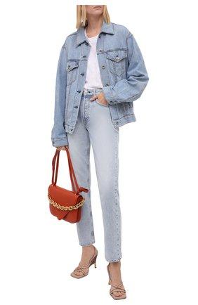 Женские джинсы RAG&BONE голубого цвета, арт. WDD21P2767B1MH | Фото 2