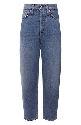 Женские джинсы RAG&BONE синего цвета, арт. WDD20F2727K3CE   Фото 1