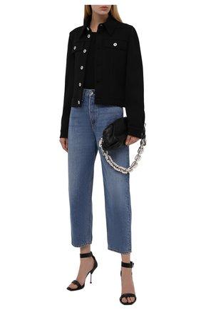 Женские джинсы RAG&BONE синего цвета, арт. WDD20F2727K3CE   Фото 2