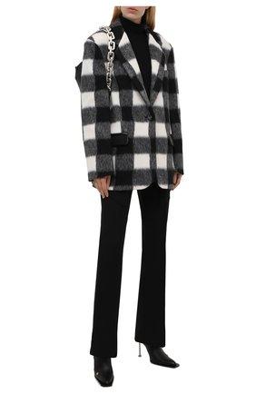Женский жакет FORTE DEI MARMI COUTURE черно-белого цвета, арт. 21WF1406 | Фото 2