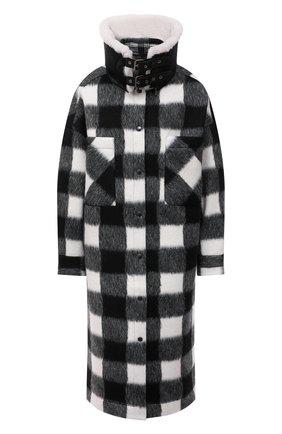 Женское пальто FORTE DEI MARMI COUTURE черно-белого цвета, арт. 21WF1509 | Фото 1