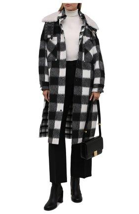 Женское пальто FORTE DEI MARMI COUTURE черно-белого цвета, арт. 21WF1509 | Фото 2