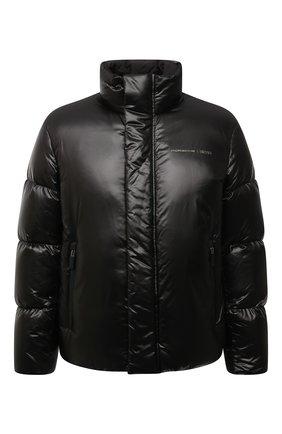 Мужская пуховая куртка boss x porsche BOSS черного цвета, арт. 50455843 | Фото 1 (Материал подклада: Синтетический материал; Материал внешний: Синтетический материал; Материал утеплителя: Пух и перо; Длина (верхняя одежда): Короткие; Рукава: Длинные; Кросс-КТ: Куртка; Мужское Кросс-КТ: пуховик-короткий; Стили: Кэжуэл)
