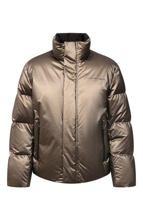 Мужская пуховая куртка boss x porsche BOSS золотого цвета, арт. 50457661 | Фото 1 (Материал внешний: Синтетический материал; Длина (верхняя одежда): Короткие; Материал утеплителя: Пух и перо; Рукава: Длинные; Материал подклада: Синтетический материал; Кросс-КТ: Куртка; Мужское Кросс-КТ: пуховик-короткий; Стили: Кэжуэл)