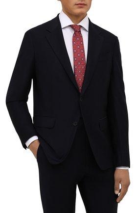 Мужской шелковый галстук ETON красного цвета, арт. A000 32545 | Фото 2 (Материал: Шелк, Текстиль; Принт: С принтом)