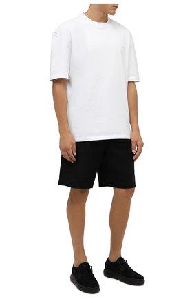 Мужские замшевые слипоны conley zip GIUSEPPE ZANOTTI DESIGN черного цвета, арт. IU10005/002 | Фото 2 (Материал внутренний: Натуральная кожа; Стили: Кэжуэл; Материал внешний: Замша)