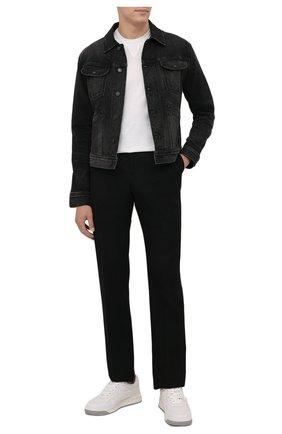 Мужская джинсовая куртка TOM FORD черного цвета, арт. BYJ50/TFD116   Фото 2 (Рукава: Длинные; Длина (верхняя одежда): Короткие; Материал внешний: Хлопок; Кросс-КТ: Куртка, Деним; Стили: Кэжуэл)