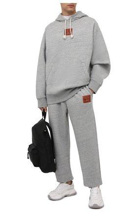 Мужские джоггеры ACNE STUDIOS серого цвета, арт. CK0039/M | Фото 2