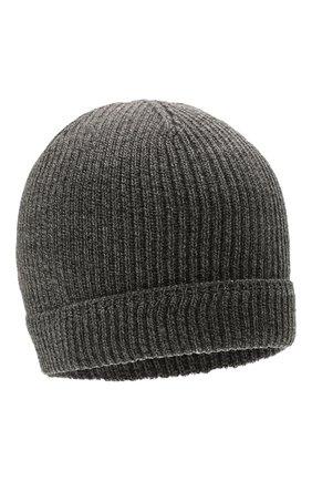 Мужская шерстяная шапка CANALI темно-серого цвета, арт. B0018/MK00461 | Фото 1