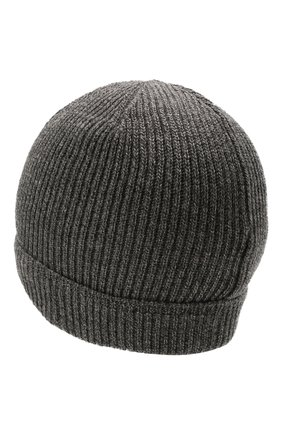 Мужская шерстяная шапка CANALI темно-серого цвета, арт. B0018/MK00461 | Фото 2