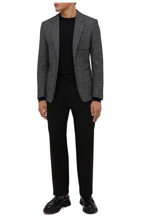 Мужской пиджак из шерсти и хлопка DOLCE & GABBANA серого цвета, арт. G2PT9T/GEV53 | Фото 2