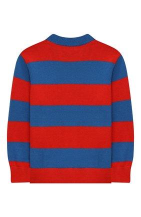Детский хлопковый пуловер STELLA MCCARTNEY разноцветного цвета, арт. 603590/SRM06 | Фото 2