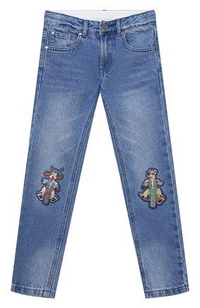 Детские джинсы STELLA MCCARTNEY голубого цвета, арт. 602323/SRK32 | Фото 1
