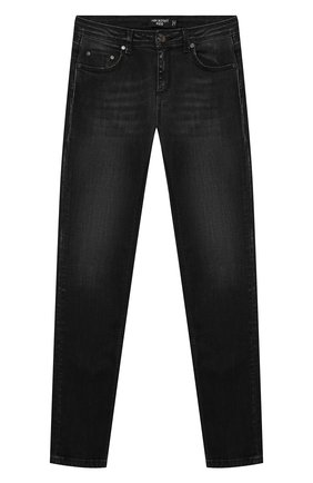 Детские джинсы NEIL BARRETT KIDS черного цвета, арт. 028983 | Фото 1