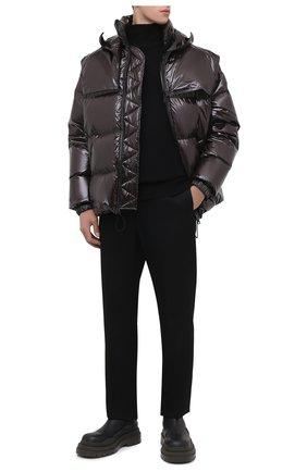 Мужские кожаные челси tire BOTTEGA VENETA черного цвета, арт. 630281/VBS50 | Фото 2 (Материал внутренний: Натуральная кожа; Мужское Кросс-КТ: Сапоги-обувь, Челси-обувь; Каблук высота: Высокий; Подошва: Массивная)