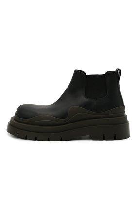 Мужские кожаные челси tire BOTTEGA VENETA черного цвета, арт. 630281/VBS50 | Фото 4 (Каблук высота: Высокий; Материал внутренний: Натуральная кожа; Подошва: Массивная; Мужское Кросс-КТ: Сапоги-обувь, Челси-обувь)