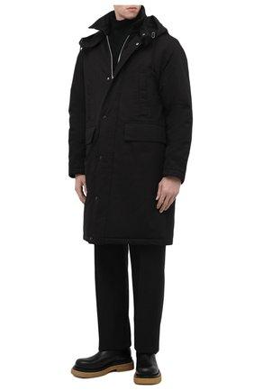 Мужские кожаные челси lug BOTTEGA VENETA черного цвета, арт. 668369/VBS50 | Фото 2 (Мужское Кросс-КТ: Сапоги-обувь, Челси-обувь; Материал внутренний: Натуральная кожа; Подошва: Массивная; Каблук высота: Высокий)
