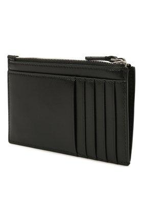 Женский кожаный футляр для кредитных карт BALENCIAGA черного цвета, арт. 664044/12U53 | Фото 2