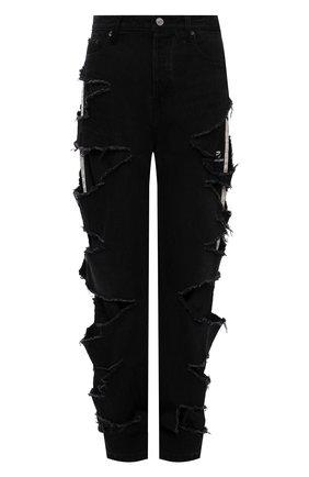 Женские джинсы BALENCIAGA черного цвета, арт. 662764/TBP47 | Фото 1