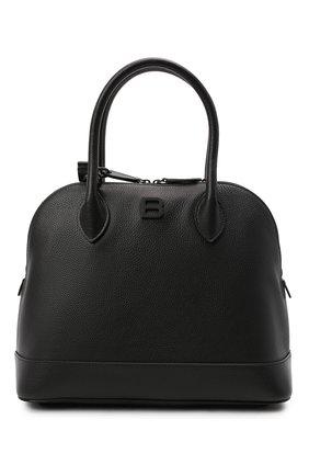 Женская сумка ville BALENCIAGA черного цвета, арт. 645011/1Y517 | Фото 1 (Материал: Натуральная кожа; Ремень/цепочка: На ремешке; Размер: medium; Сумки-технические: Сумки top-handle, Сумки через плечо)