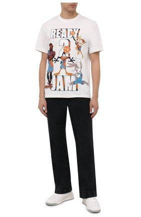 Мужская хлопковая футболка vilebrequin x space jam VILEBREQUIN белого цвета, арт. EDTZ1P67/052 | Фото 2