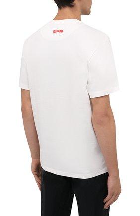 Мужская хлопковая футболка vilebrequin x space jam VILEBREQUIN белого цвета, арт. EDTZ1P67/052 | Фото 4 (Мужское Кросс-КТ: Футболка-пляж; Рукава: Короткие; Длина (для топов): Стандартные; Принт: С принтом; Материал внешний: Хлопок; Стили: Спорт-шик)