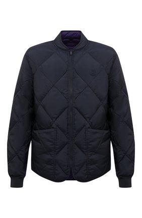 Мужская двусторонняя куртка KENZO темно-синего цвета, арт. FB65BL1221NF | Фото 1
