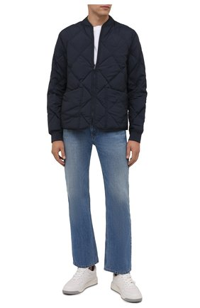 Мужская двусторонняя куртка KENZO темно-синего цвета, арт. FB65BL1221NF | Фото 2