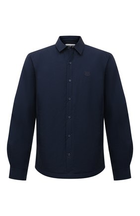 Мужская куртка-рубашка KENZO темно-синего цвета, арт. FB65CH4609CD | Фото 1