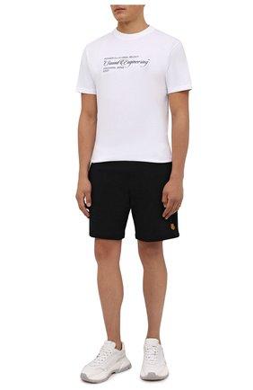 Мужские хлопковые шорты KENZO черного цвета, арт. FB55PA7274ML | Фото 2