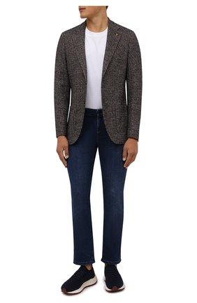 Мужские текстильные кроссовки H`D`S`N BARACCO темно-синего цвета, арт. ARES.AC.0* | Фото 2