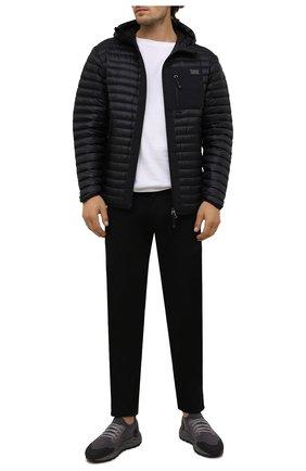 Мужские текстильные кроссовки H`D`S`N BARACCO серого цвета, арт. ARES.GN.1* | Фото 2
