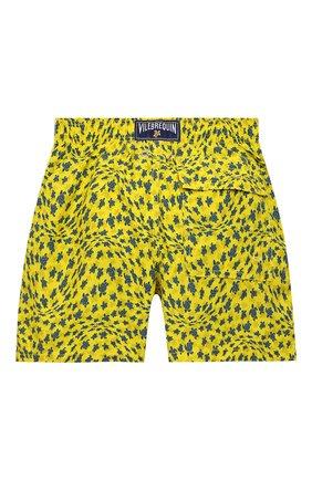 Детские плавки-шорты VILEBREQUIN желтого цвета, арт. JIMH1B20/105 | Фото 2