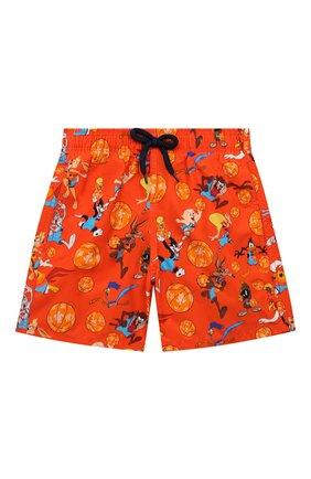 Детские плавки-шорты VILEBREQUIN красного цвета, арт. JIMZ1B67/193 | Фото 1