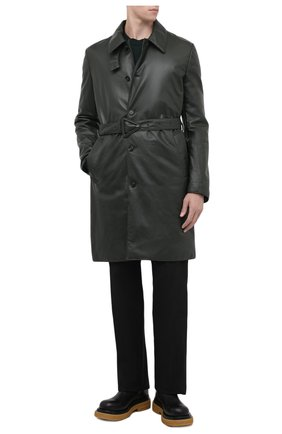 Мужские кожаные челси lug BOTTEGA VENETA черного цвета, арт. 668370/VBS50 | Фото 2 (Материал внутренний: Натуральная кожа; Каблук высота: Высокий; Подошва: Массивная; Мужское Кросс-КТ: Челси-обувь, Сапоги-обувь)