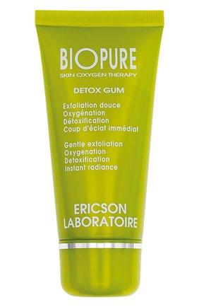 Очищающий гоммаж для лица detox gum  (50ml) ERICSON LABORATOIRE бесцветного цвета, арт. 3700358308403   Фото 1