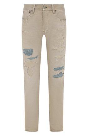 Мужские джинсы RRL бежевого цвета, арт. 782840631 | Фото 1