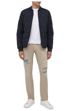 Мужские джинсы RRL бежевого цвета, арт. 782840631 | Фото 2