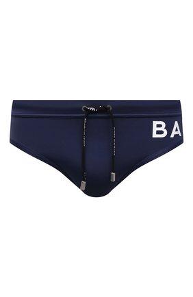 Мужские плавки BALMAIN синего цвета, арт. BWB21016   Фото 1