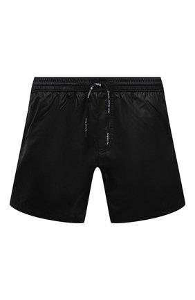 Мужские плавки-шорты BALMAIN черного цвета, арт. BWB78027   Фото 1