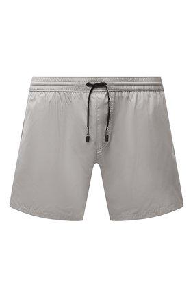 Мужские плавки-шорты BALMAIN серого цвета, арт. BWB78027   Фото 1