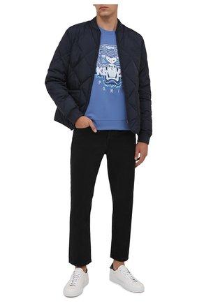 Мужские джинсы KENZO черного цвета, арт. FB65DP2002ED | Фото 2