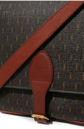 Мужская сумка le monogramme SAINT LAURENT коричневого цвета, арт. 668582/2UY2W | Фото 2