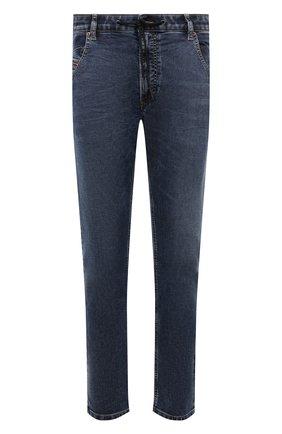 Мужские джинсы DIESEL темно-синего цвета, арт. A00879/069VX | Фото 1